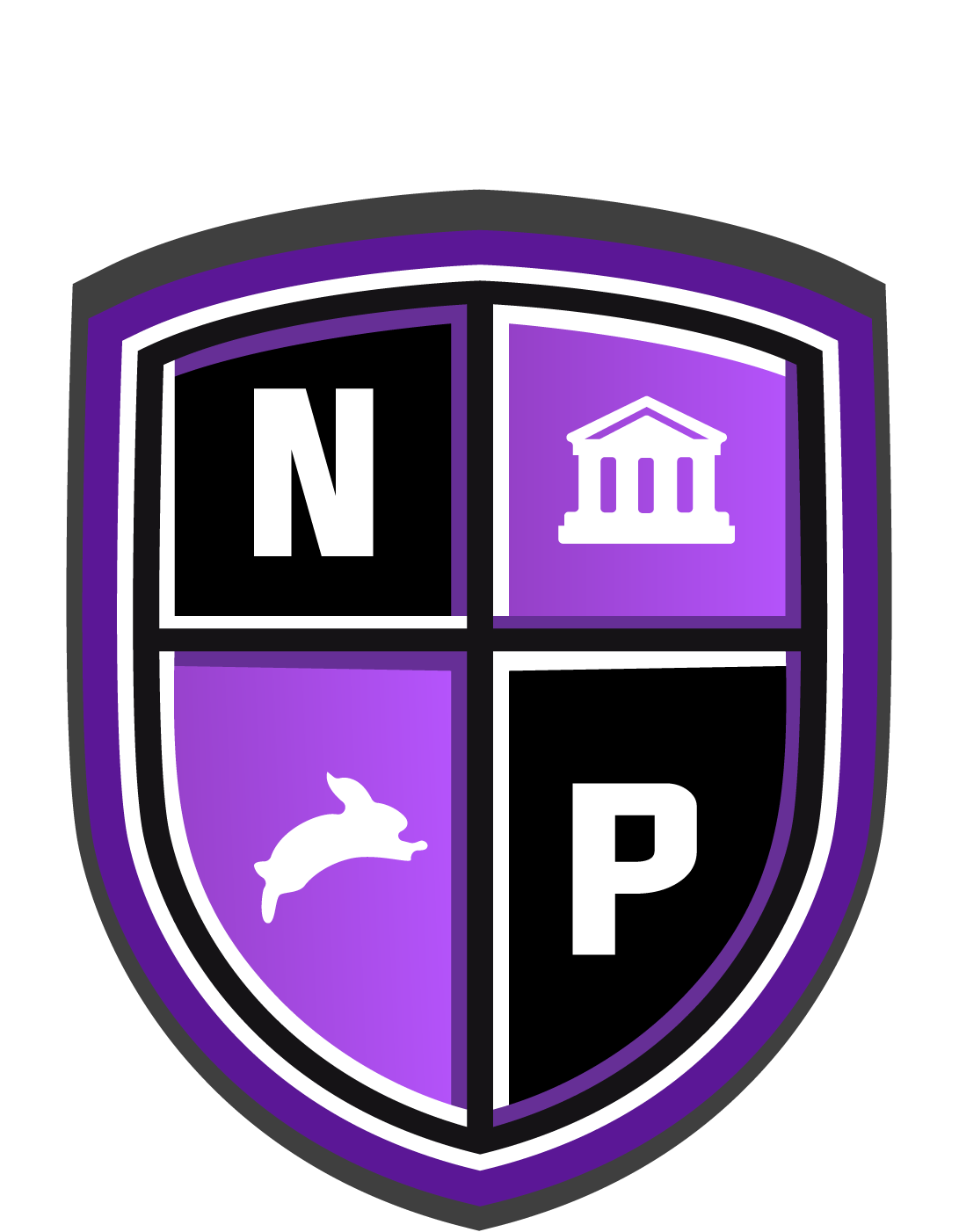 The North Point Academy Shield