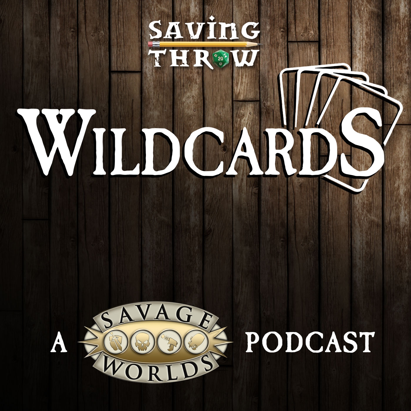 Wildcards - Saving Throw podcast show image